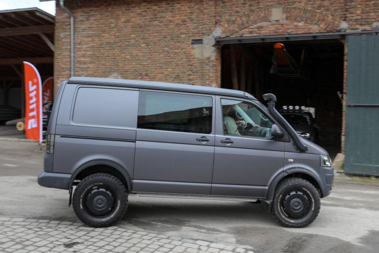 4x4Schweiz-Test: VW T6 Rockton 4Motion von Seikel Offroad