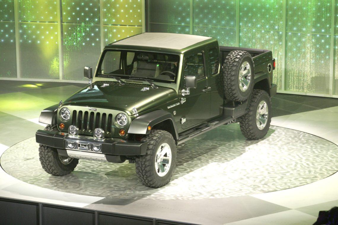 Jeep Pick-up auch für Europa