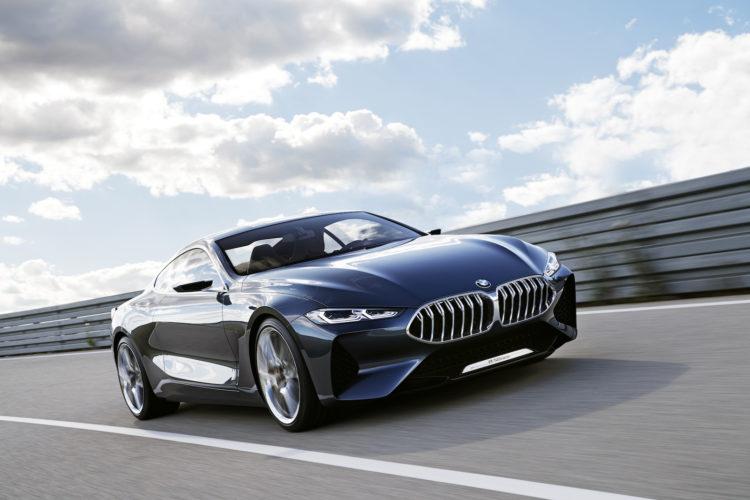 4x4Schweiz-News: Die neue BWM 8er-Serie, so sieht sie aus: Fahrsituation Frontansicht