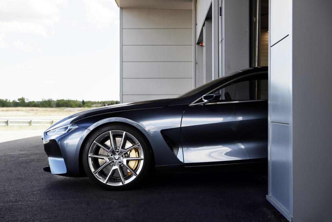 Hoffnungsträger im Super Acht-Format, der neue 8er BMW