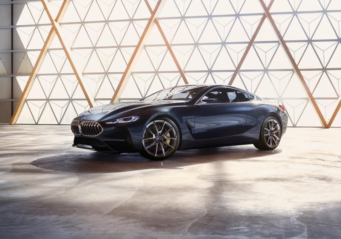Licht an für den neuen BMW 8er.