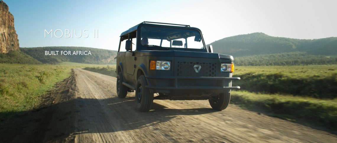 """Mobius II – ein neuer """"Defender"""" für Afrika. Mehr Auto braucht es nicht."""