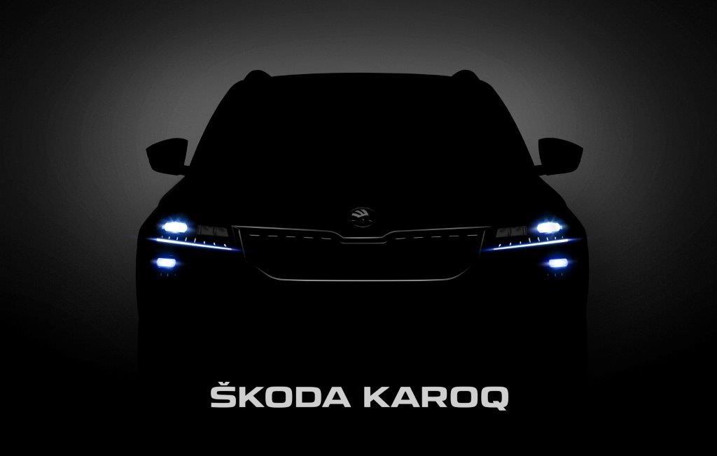 Das neue Kompakt-SUV Skoda Karoq feiert morgen Weltpremiere