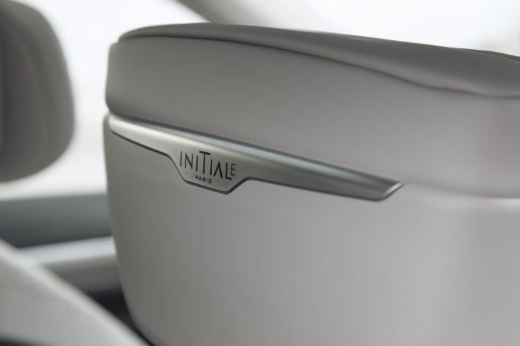 Das Initiale Paris-Logo ziert verschiedenste Stellen im Innenraum des Renault Koleos