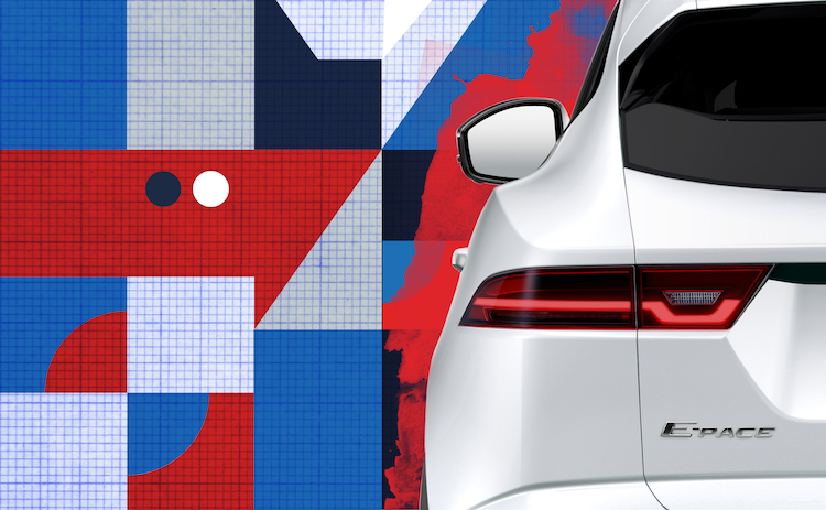 Der neue Jaguar E-PACE feiert am 13. Juli 2017