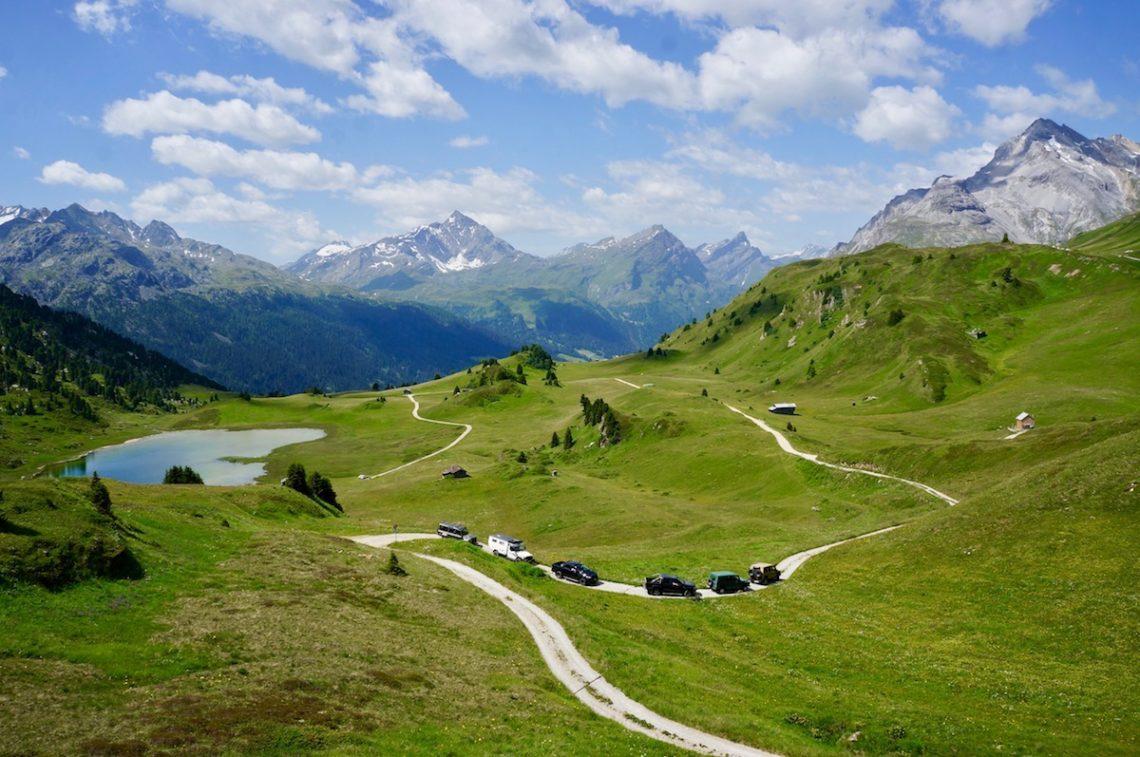 Offroad-Exkursion durch Graubünden mit Adventure Holidays