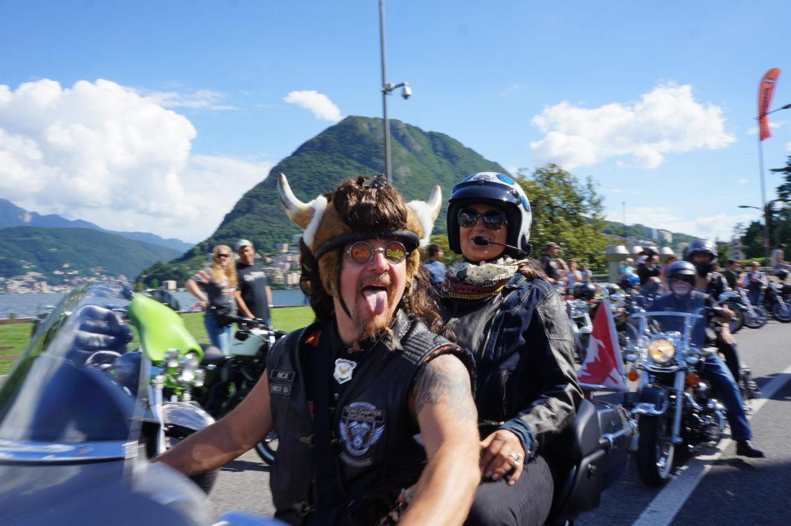 Die Swiss Harley Days 2017 und 26th H.O.G. Rally in Lugano