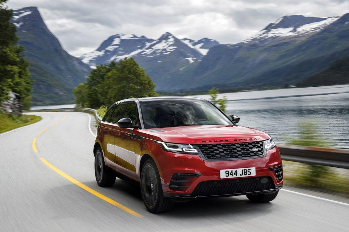 4x4Schweiz-News: Land Rover Range Rover Velar on-road