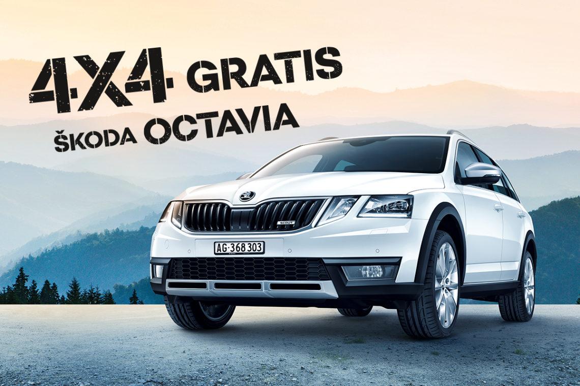 4x4Schweiz-Promotion: Skoda verschenkt 4x4-Antrieb für den Octavia