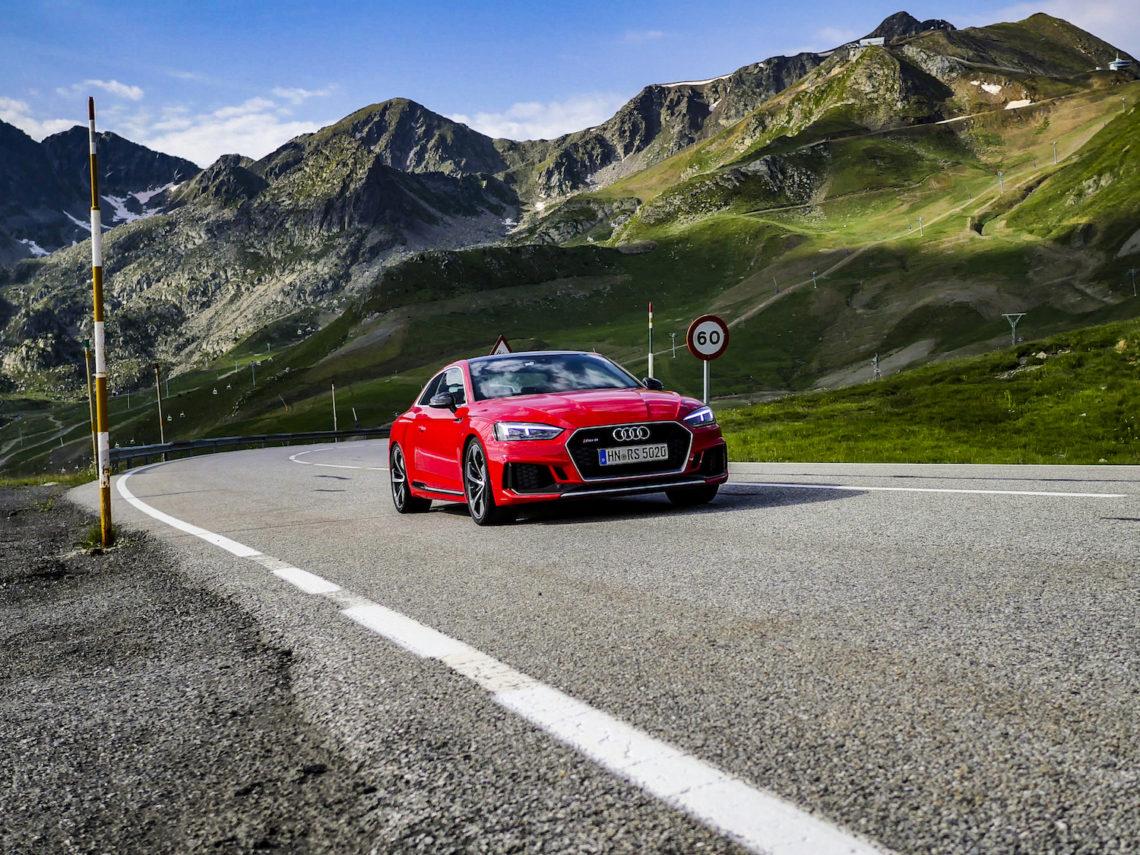 4x4Schweiz-News: Audi RS5 Tesdrive Andorra