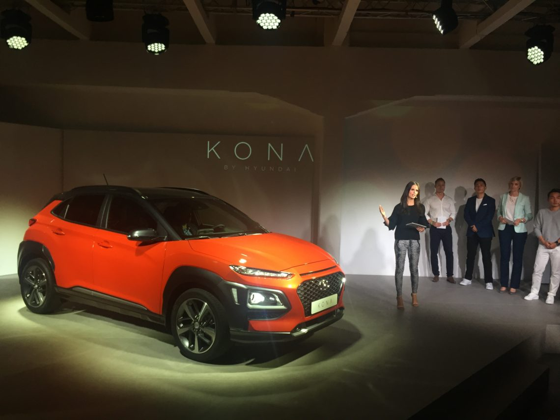 Hyundai Kona – Weltpremiere