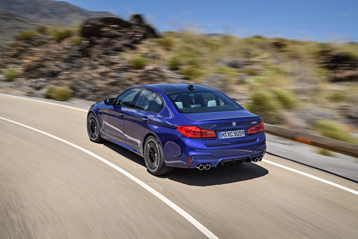 Der neue BMW M5 fährt mit xDrive … oder auch nicht.