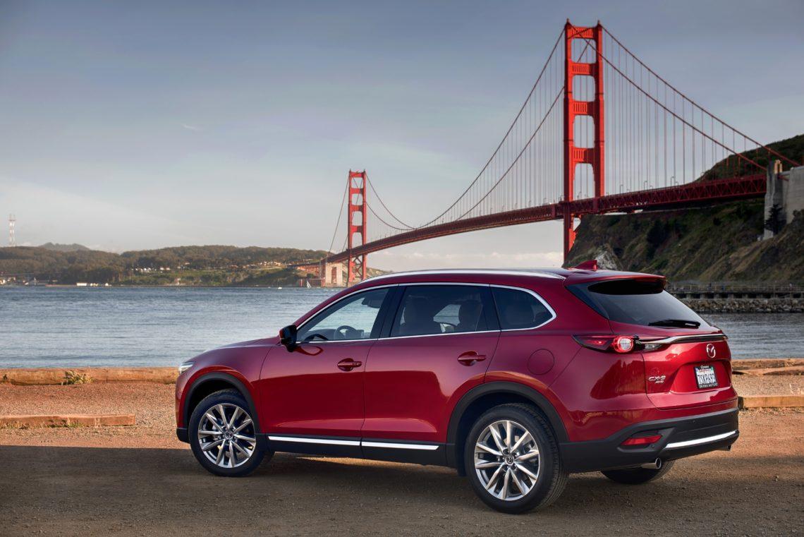 4x4Schweiz-Know-how: Mazda CX-9, Todesraten bei Verkehrsunfällen mit SUV geringer