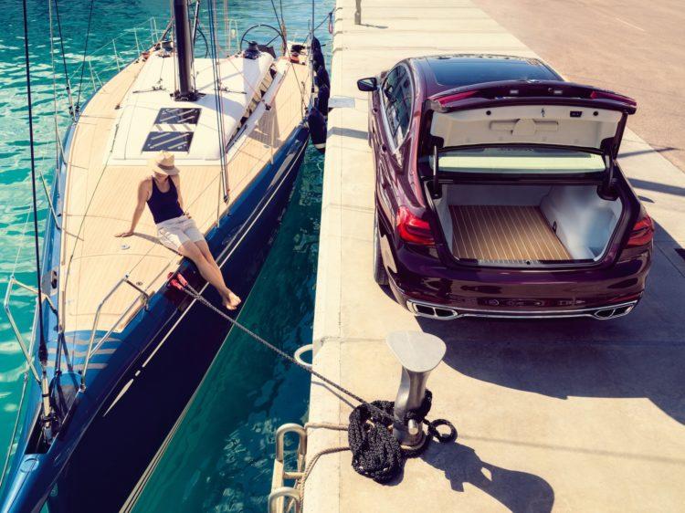 Nautor's Swan hat einen BMW M760Li xDrive V12 individualisiert: Kofferaum