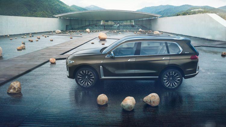 BMW X7 iPerformance Concept Seitenansicht