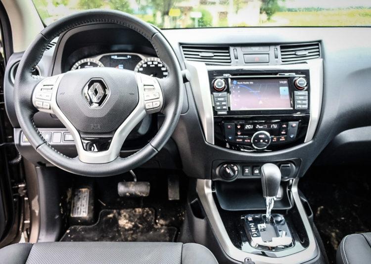 Renault Alaskan Cockpit