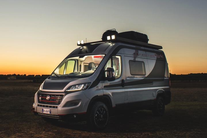 Allrad fürs Abenteuer: Fiat 4×4 Expedition