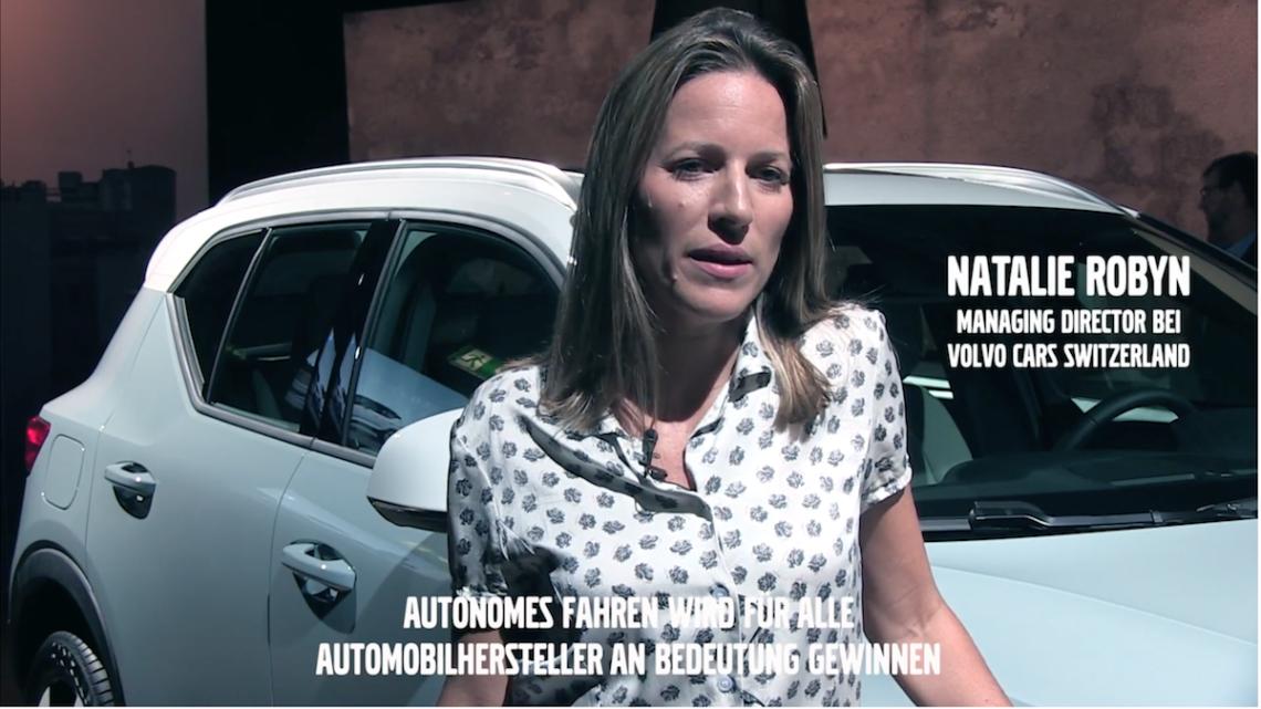 Volvo Art Session 2017: Natalie Robin MD Volvo Switzerland im Interview