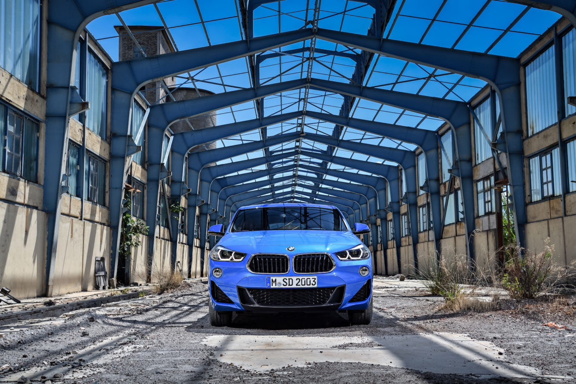 BMW X2 – The new kid in town
