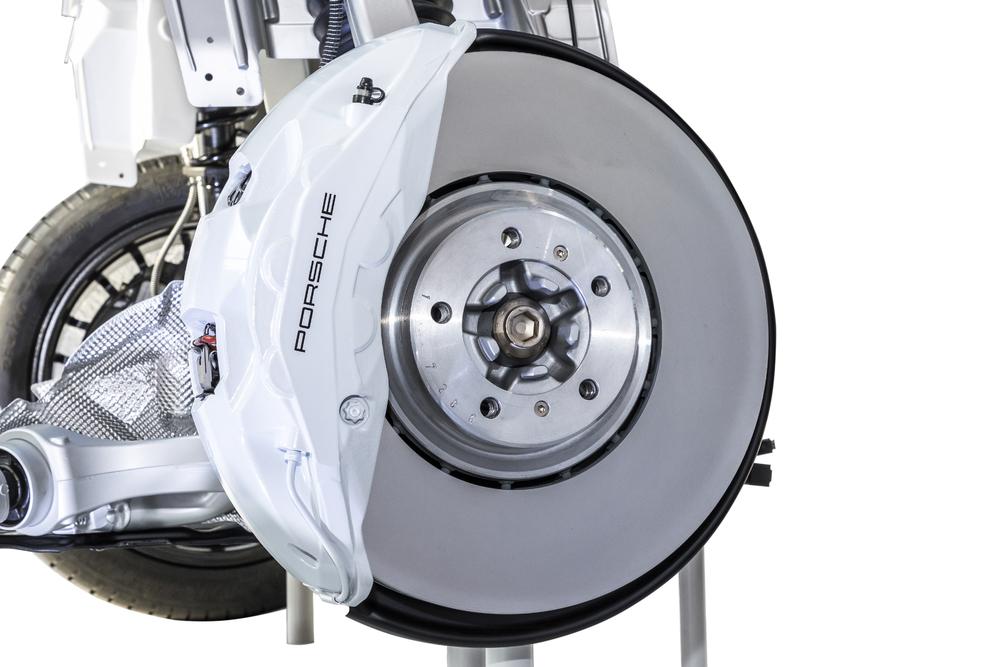 Neuartige PSCB-Bremse für den Porsche Cayenne