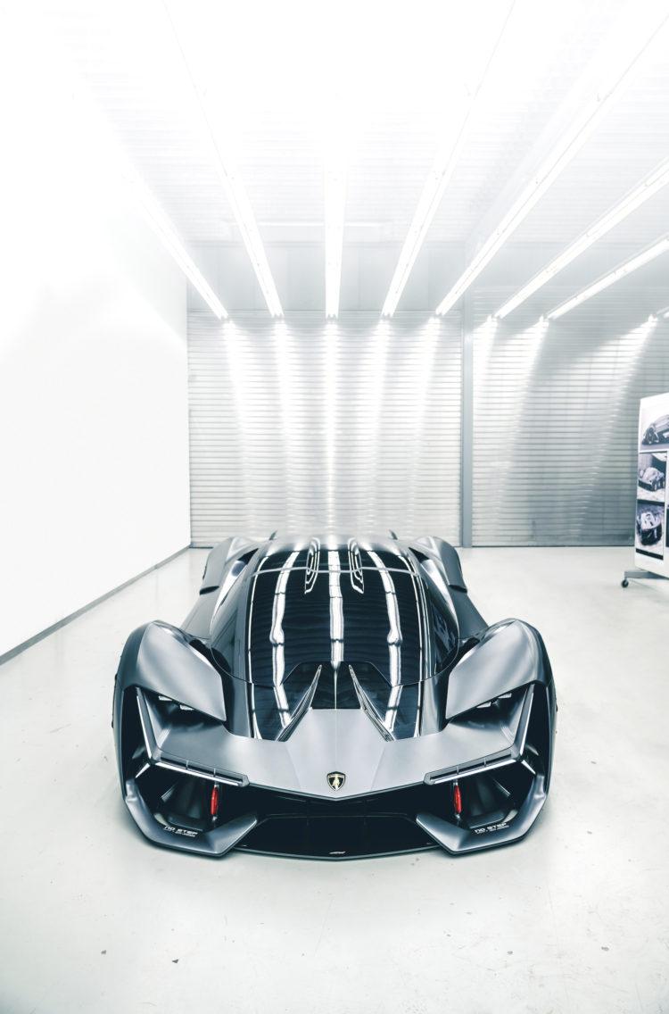 Lamborghini Terzo Millennio – Superstromer 3.0 Frontansicht