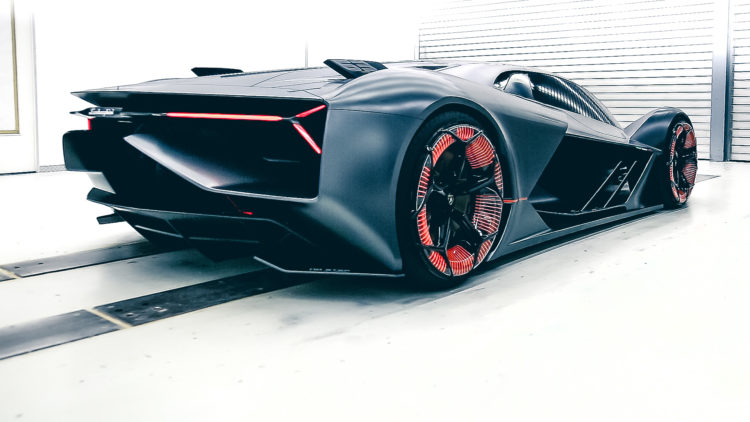 Lamborghini Terzo Millennio – Superstromer 3.0 Heckansicht