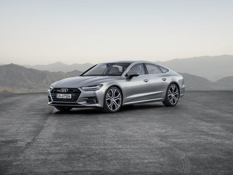 Audi A7: Markante Front