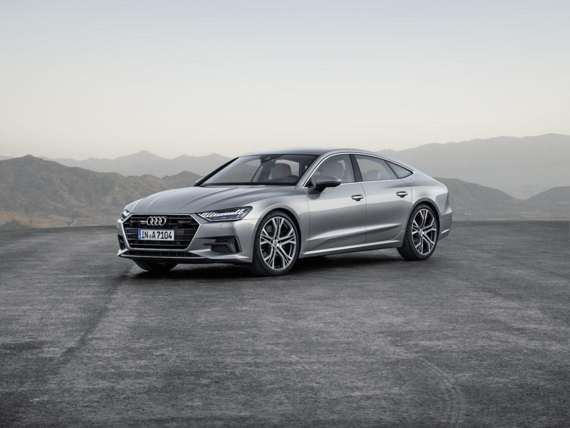 Der glorreiche: der neue Audi A7.