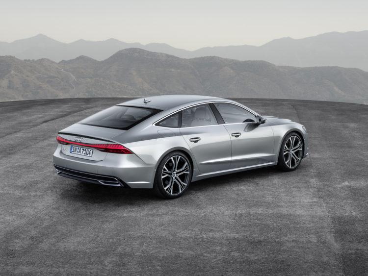 Audi A7 Schräg von hinten