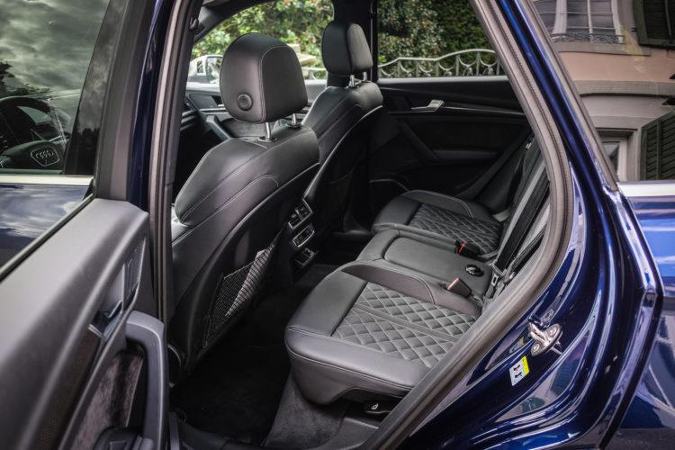 Audi SQ5 TFSI 6V Rücksitze