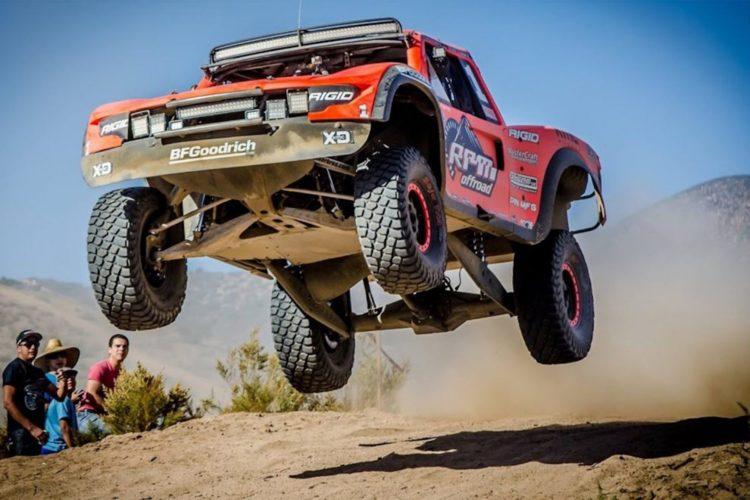 Baja 1000 Trophy Truck Sprung