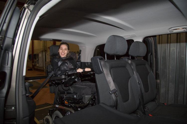 Kirchhoff Mobility AG: Mercedes-Benz V-Klasse Rollstuhlplatz und zweite Sitzreihe