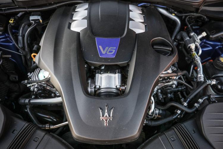 Maserati Ghibli GranSport Motorblock