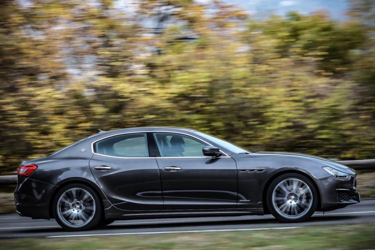 Maserati Ghibli GranLusso Profil links