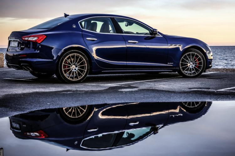 Maserati Ghibli GranSport Profil rechts