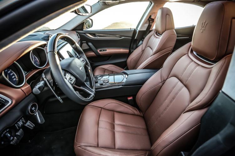 Maserati Ghibli GranSport Interieur