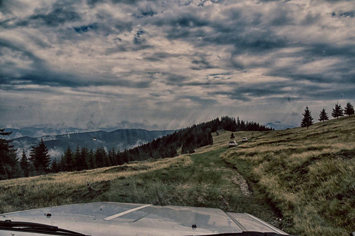 Off-the-road in Siebenbürgen Rumänien