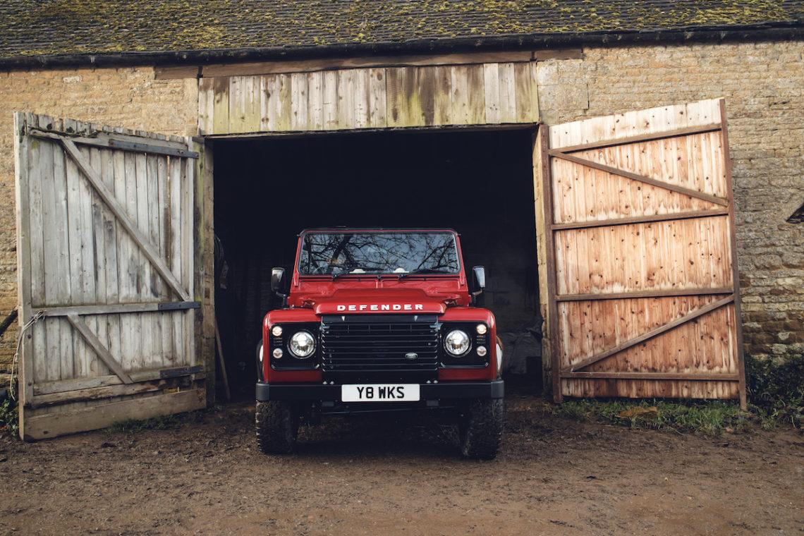 Krass: Land Rover Defender Works V8 70th Edition