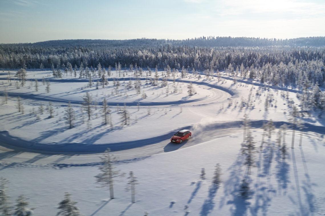 Skoda 4x4 Winter Experience 2018 Skoda Octavia 4x4 Drift