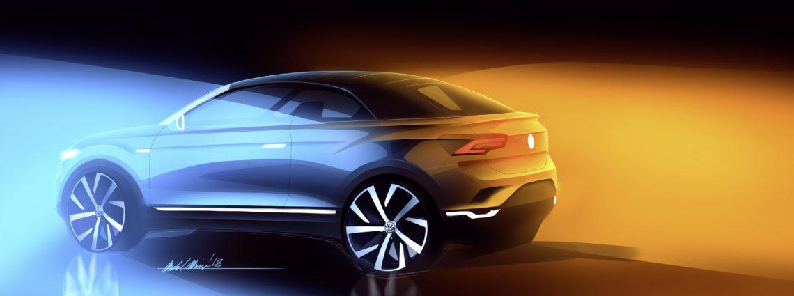 Oben ohne: VW T-Roc Cabrio