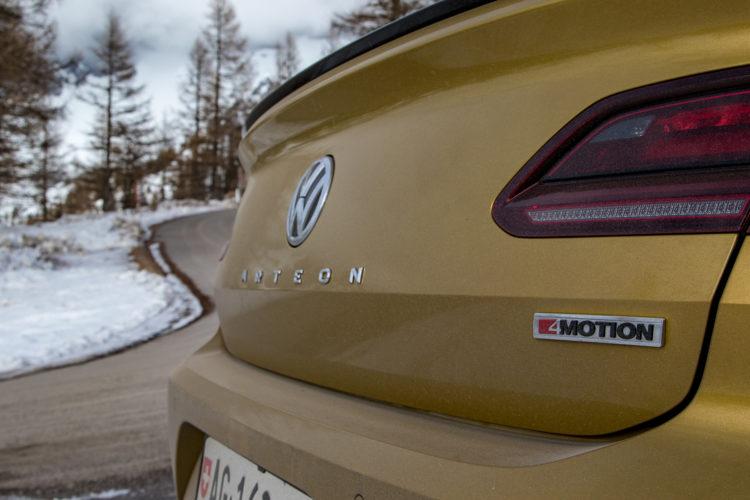 VW Arteon 4Motion Heck