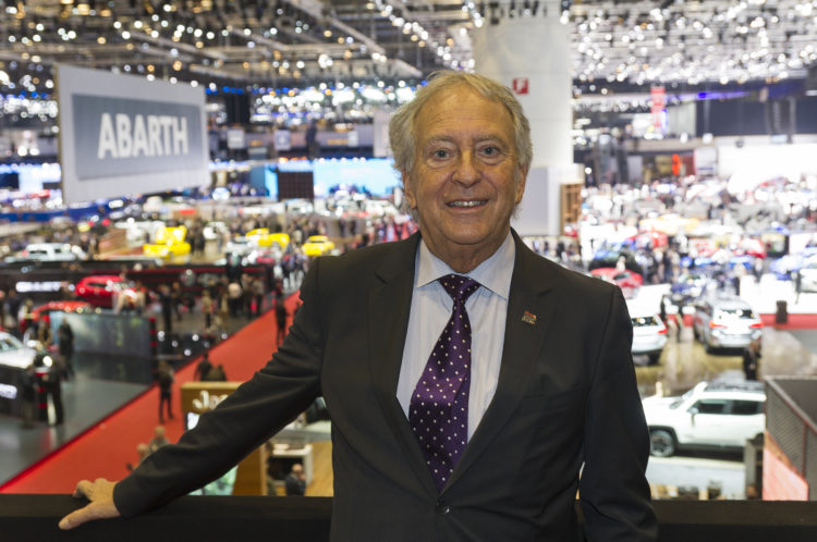 André Hefti - Generaldirektor des Genfer Autosalon
