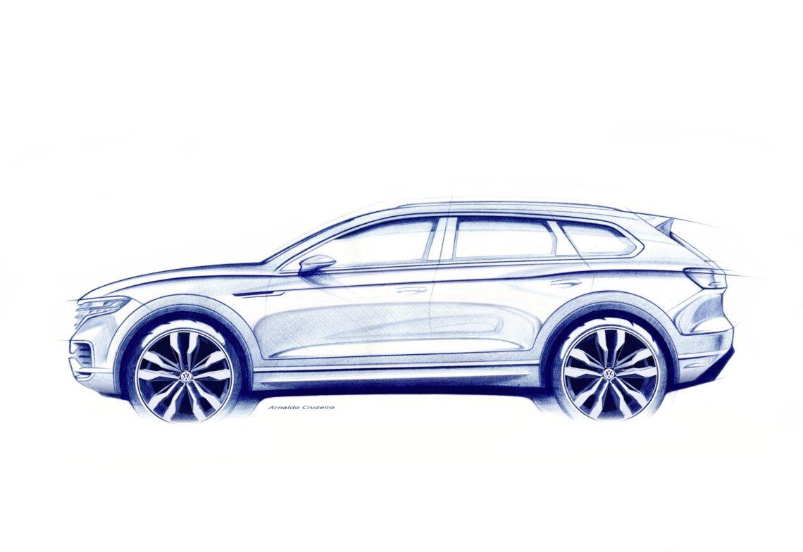 Der VW Touareg steht in den Startlöchern