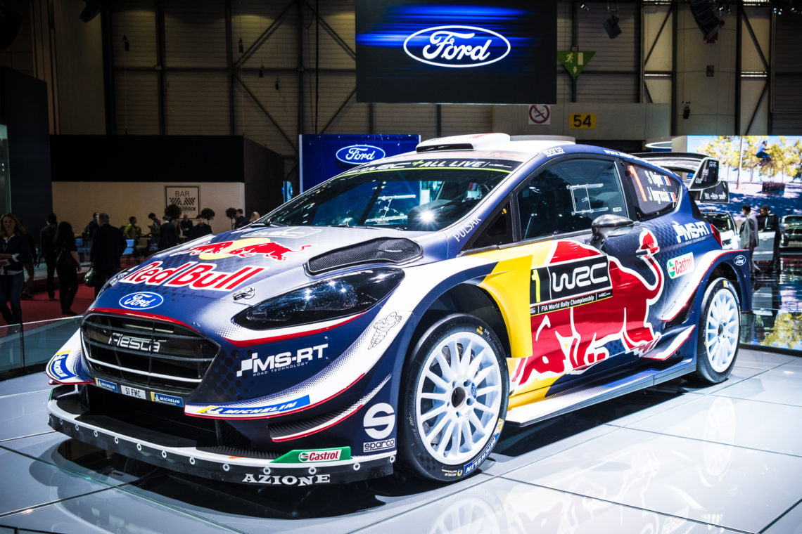 FORD Fiesta WRC Rallyewagen