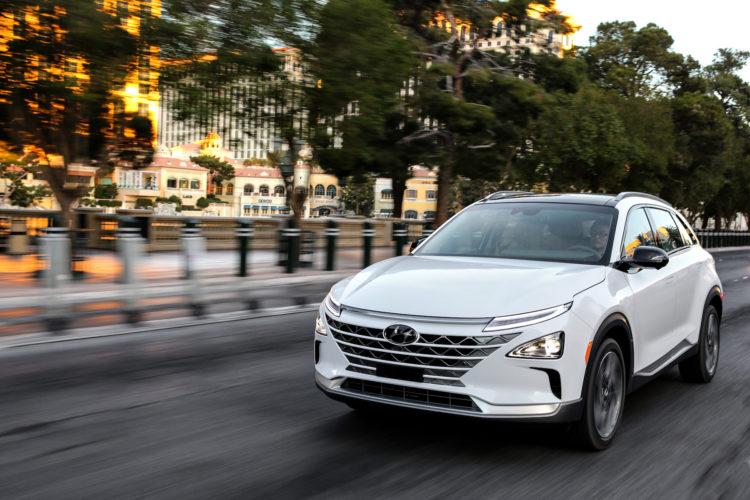 Das Brennstoffzellen-SUV Hyundai Nexo