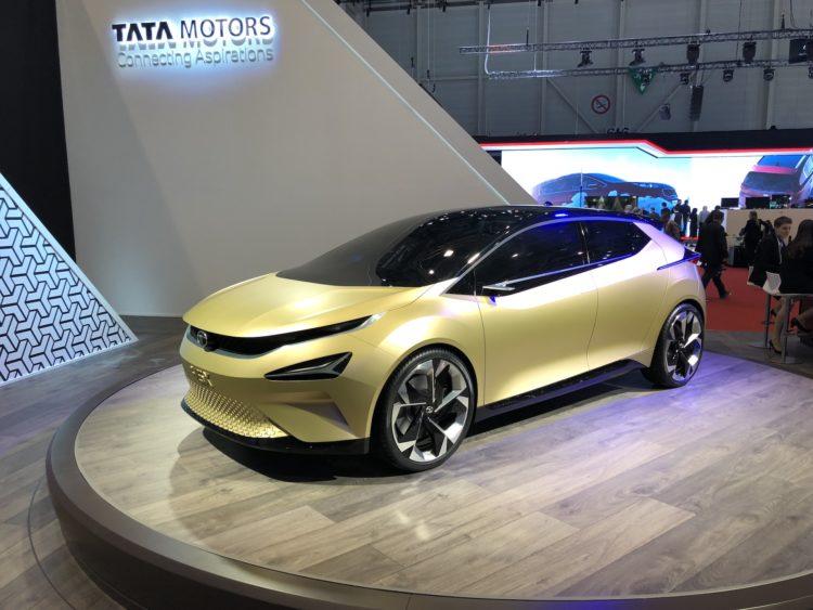 TataConcept Car 45X am GIMS2018