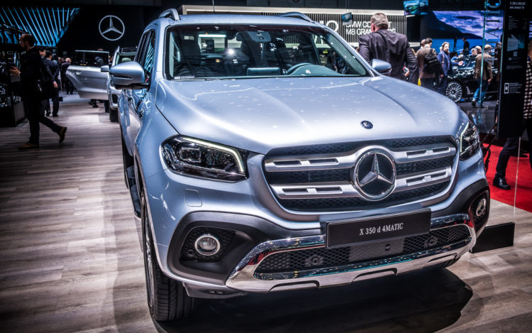Mercedes-Benz X 350 d 4MATIC am GIMS2018