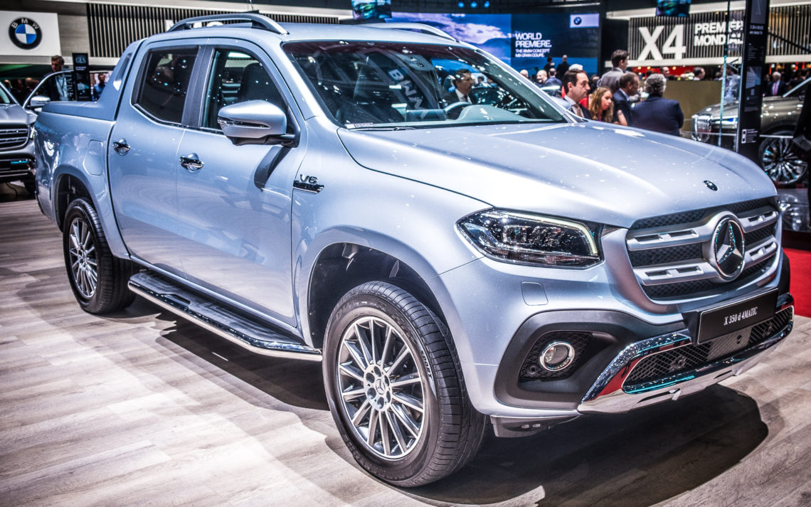 Premium-Pickup Mercedes-Benz X-Klasse jetzt auch als Sechsender