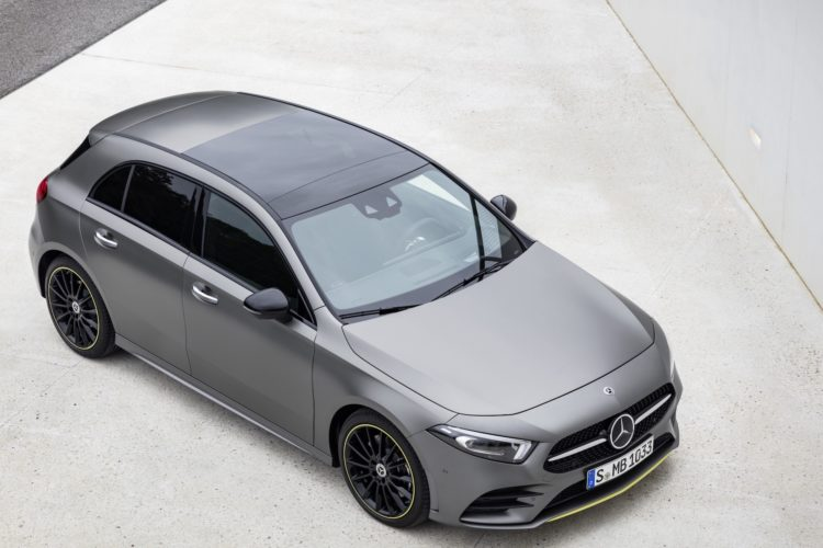 Mercedes-Benz A-Klasse in Mattgrau