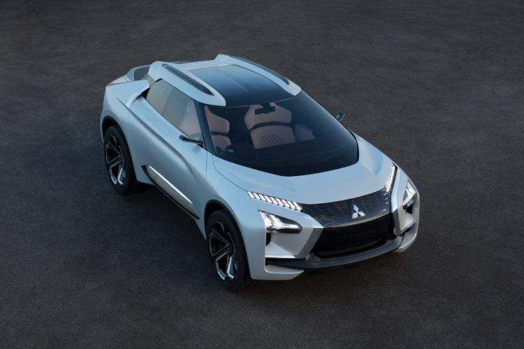 Mitsubishi e-Evolution Concept - Crossover und Elektromotor